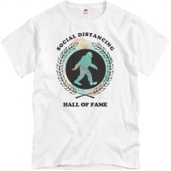 Social Distancing Hall of Fame Inductee Bigfoot