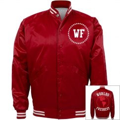 Cherry Red Bomber