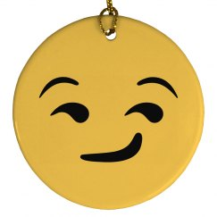 Suggestive Emoji Ornament