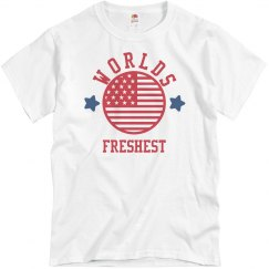 Worlds Freshest USA T
