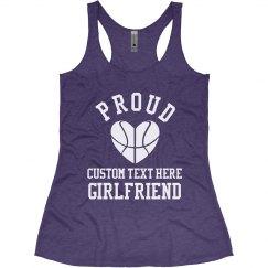 Custom Basketball Girlfriend