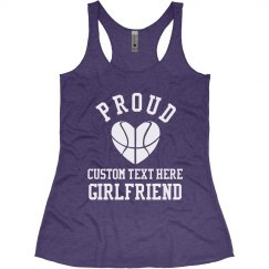 Custom Basketball Girlfriend