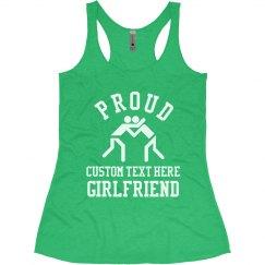Wrestling Girlfriend Custom Text