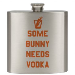 Anti-Easter Flask Basket Gifts