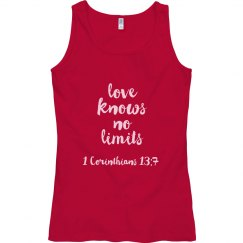 Love Knows No Limits - Tank Top