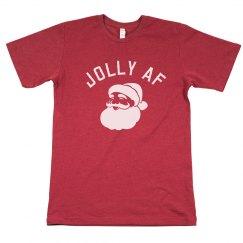 Funny Santa Jolly AF