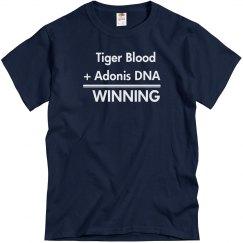 Tiger Blood Is Winning