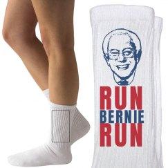 Run Bernie Sanders 2016 Socks