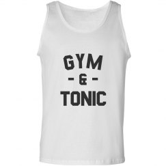 Workout With Gym And Tonic