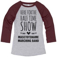 Masctotsname Halftime Band Show