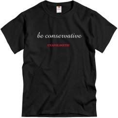 be conservative