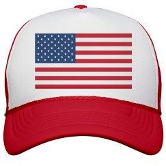 Salute My American Hat