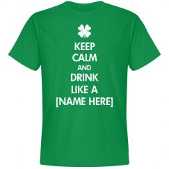 St. Patrick's Keep Calm Drink