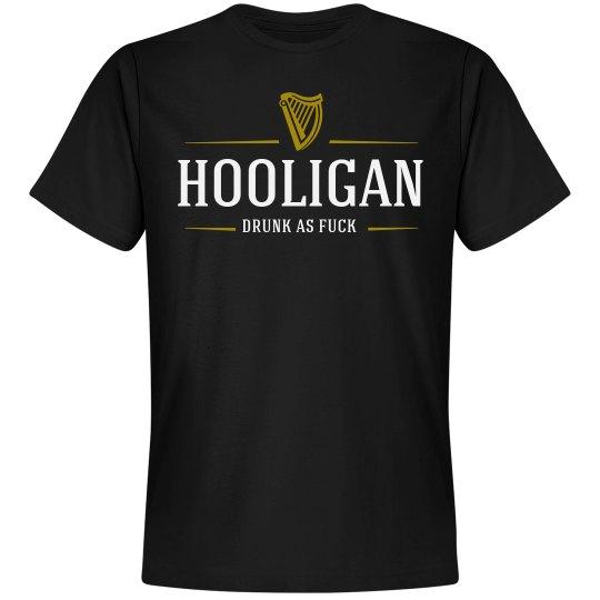 5fd9e7af9 Drunk Hooligan Beer Logo Unisex Premium T-Shirt