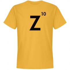 Word Games Costume, Letter Tile Z