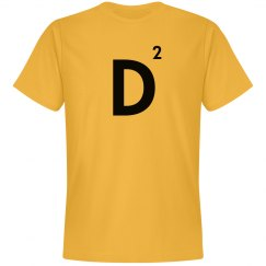 Word Games Costume, Letter Tile D
