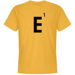Word Games Costume, Letter Tile E