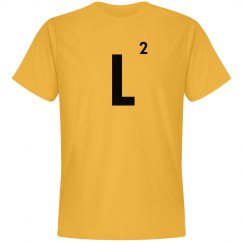 Word Games Costume, Letter Tile L