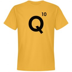Word Games Costume, Letter Tile Q