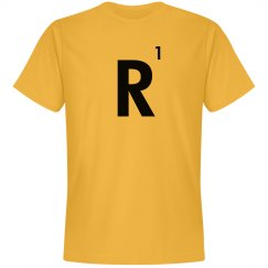 Word Games Costume, Letter Tile R