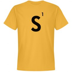 Word Games Costume, Letter Tile S