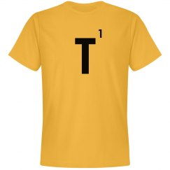 Word Games Costume, Letter Tile T