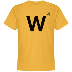 Word Games Costume, Letter Tile W
