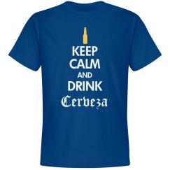 Keep Calm Drink Cerveza