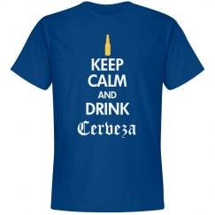 Keep Calm Drink Cerveza