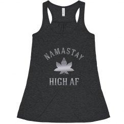 Metallic Namastay High AF