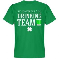 St Patty's Drinking Team