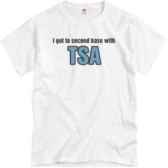 Second Base TSA Shirt