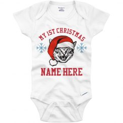 My 1st Custom Christmas Onesie
