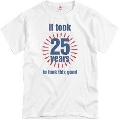 25th birthday