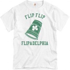 Flip Flip Flipadelphia Irish Tee