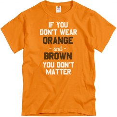 Orange & Brown Matters