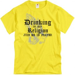 Drinking Is My Religion