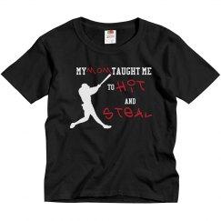 Baseball Mom - Hit and Steal