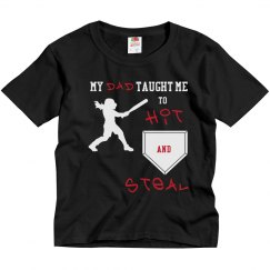 Baseball Dad - Hit and Steal