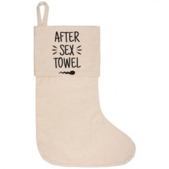 Personalized Canvas Holiday Stocking