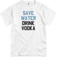 Summer Vodka Drinking