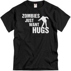 Zombies Want Hugs