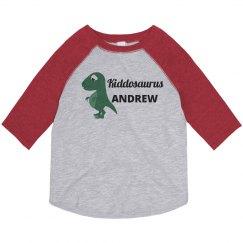 Kiddosaurus Kids Dinosaur Shirt