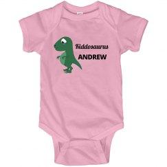 Kiddosaurus Kids Dinosaur Onesies