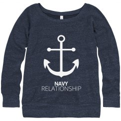 Navy Relationship Anchor Strong