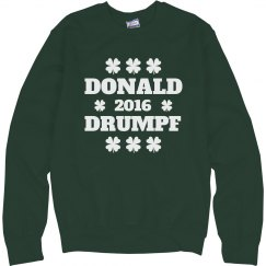 St. Patty's Day Donald Drumpf