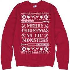 Merry Christmas Ya Lil' Monsters
