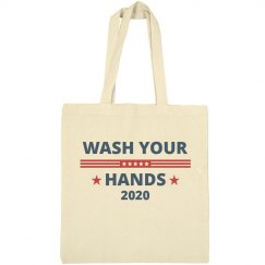 Wash Your Hands 2020 Tote Bag