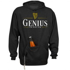 Genius Irish Stout Pun Logo