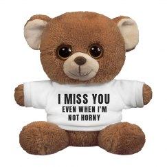 Funny I Miss You Bear
